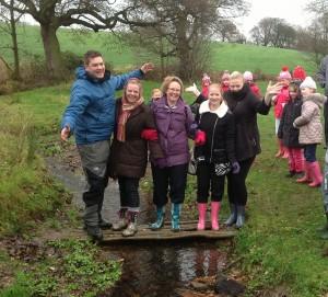 School teachers bring on a school visit to Bring Yer Wellies
